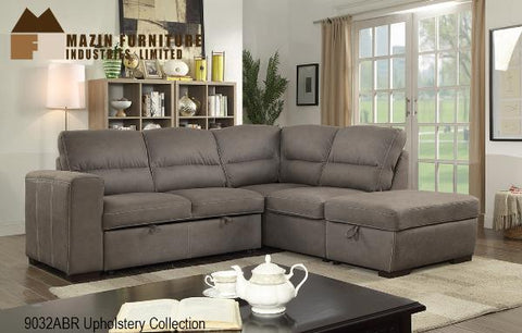 5 Pc sectional ( 9032ABR-2L ) - Aldergrove Furniture Warehouse