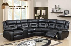 Sectional ( 9229BLK-2L ) - Aldergrove Furniture Warehouse