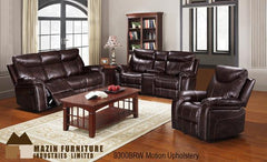 3 Pc Motion Set ( 9300BRW-1 ) - Aldergrove Furniture Warehouse