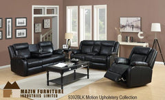 3 Pc Motion Set ( 9392BLK-1 ) - Aldergrove Furniture Warehouse