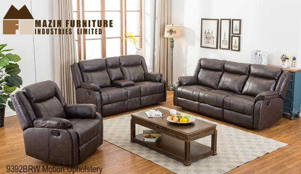 3 Pc Motion Set ( 9392BRW-1 ) - Aldergrove Furniture Warehouse