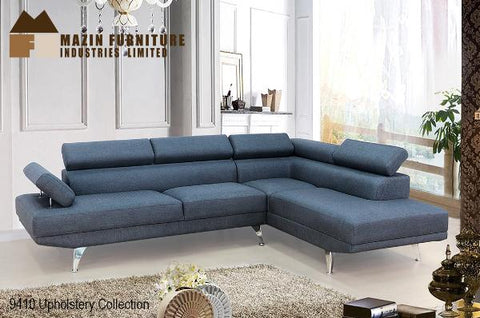 Sectional ( 9410GRY-3L ) - Aldergrove Furniture Warehouse