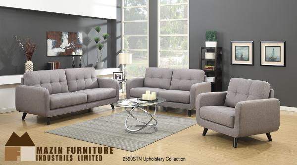 3 Pc Sofa Set ( 9590STN-1 ) - Aldergrove Furniture Warehouse