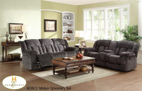 2 Pc Sofa Set With Loveseat ( 9636CC-1 ) - Aldergrove Furniture Warehouse