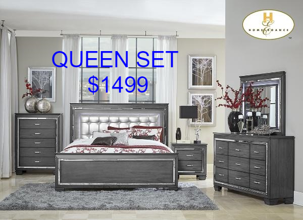 $1499 Queen Set - Aldergrove Furniture Warehouse