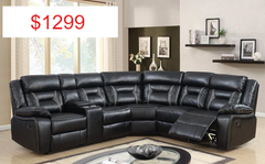 $1299 Reclining Sectional - Aldergrove Furniture Warehouse