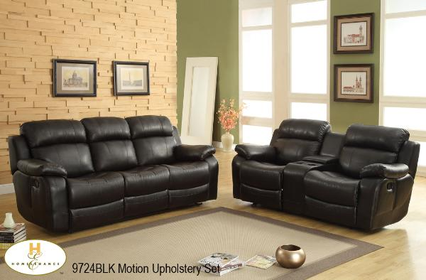 3 Pc Motion Set ( 9724BLK-1 ) - Aldergrove Furniture Warehouse