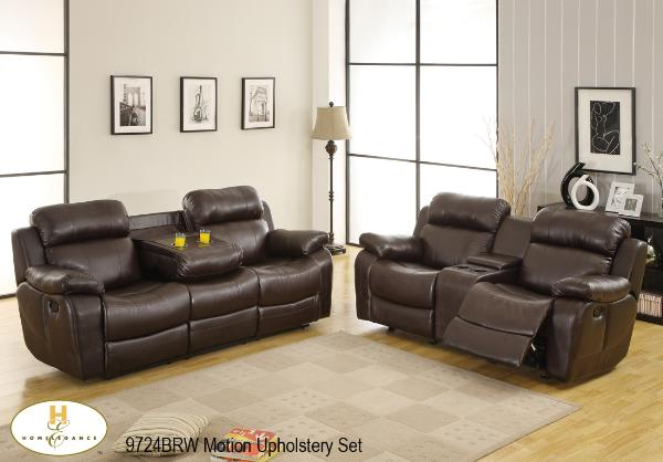 3 Pc Motion Set ( 9724BRW-1 ) - Aldergrove Furniture Warehouse