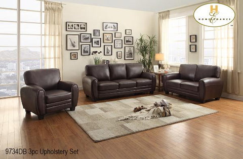 3 Pc Sofa Set ( 9734DB-1 ) - Aldergrove Furniture Warehouse