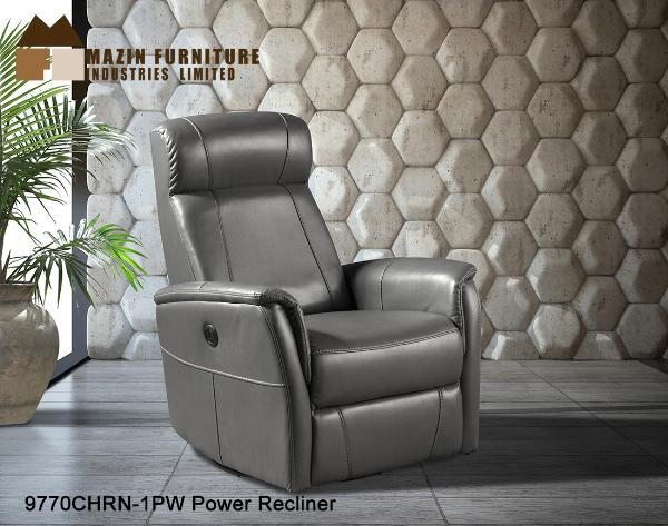 Recliner ( 9770CHR-1PW ) - Aldergrove Furniture Warehouse