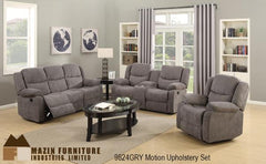 3 Pc Motion Set ( 9824GRY-3 ) - Aldergrove Furniture Warehouse