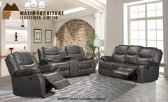 Sectional ( 9849GRY-1 ) - Aldergrove Furniture Warehouse