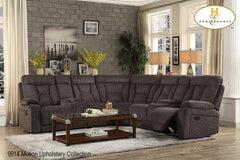 3 Pc Sectional ( 9914-2LCN ) - Aldergrove Furniture Warehouse