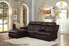 Power Sectional ( 9917DB-L ) - Aldergrove Furniture Warehouse