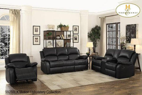3 Pc Motion Set ( 9928BLK-1 ) - Aldergrove Furniture Warehouse