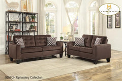 2 Pc Set with Sectional ( 9957CH-2 ) - Aldergrove Furniture Warehouse