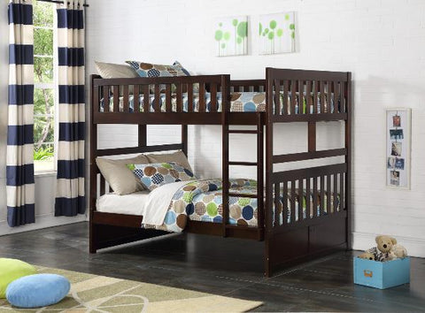 The Rowe Collection  BunkBed ( B2013FFE-1 ) - Aldergrove Furniture Warehouse