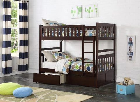 The Rowe Collection  BunkBed ( B2013E-1 ) - Aldergrove Furniture Warehouse