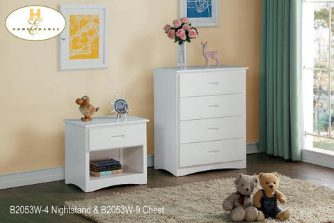 The Galen Collection  BunkBed ( B2053W-1 ) - Aldergrove Furniture Warehouse