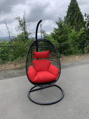SWING CHAIR, SINGLE FOLDING(AVAILABLE IN BLUE,RED,GREEN,GRAY,LIGHT GRAY)