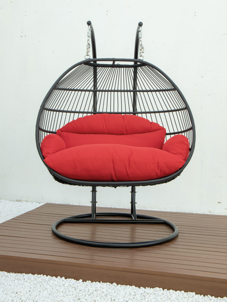 SWING CHAIR, DOUBLE FOLDING(AVAILABLE IN RED,BLUE,GREEN,GRAY)