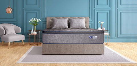 Tranquility Plush Euro Pillow Top Back Support mattress by Spring Air - Aldergrove Furniture Warehouse