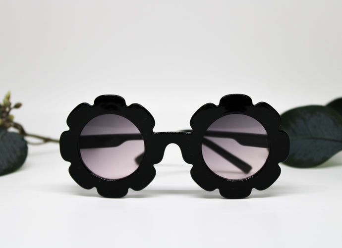 Black Baby Sunflower Sunnies