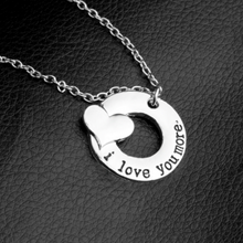 Load image into Gallery viewer, I love you more Necklace