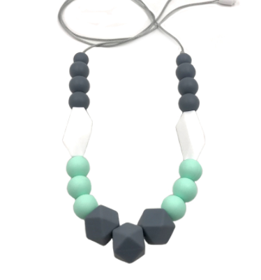 Mommy & me teething necklace