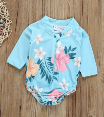 One Piece Flower Swimmie 24M