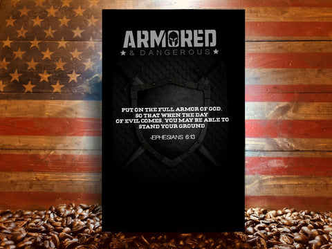 """Armored and Dangerous"" Book - By the Founder of Armored Coffee - Randy LaVere"