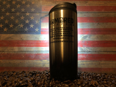 Armored Coffee Custom Tumbler