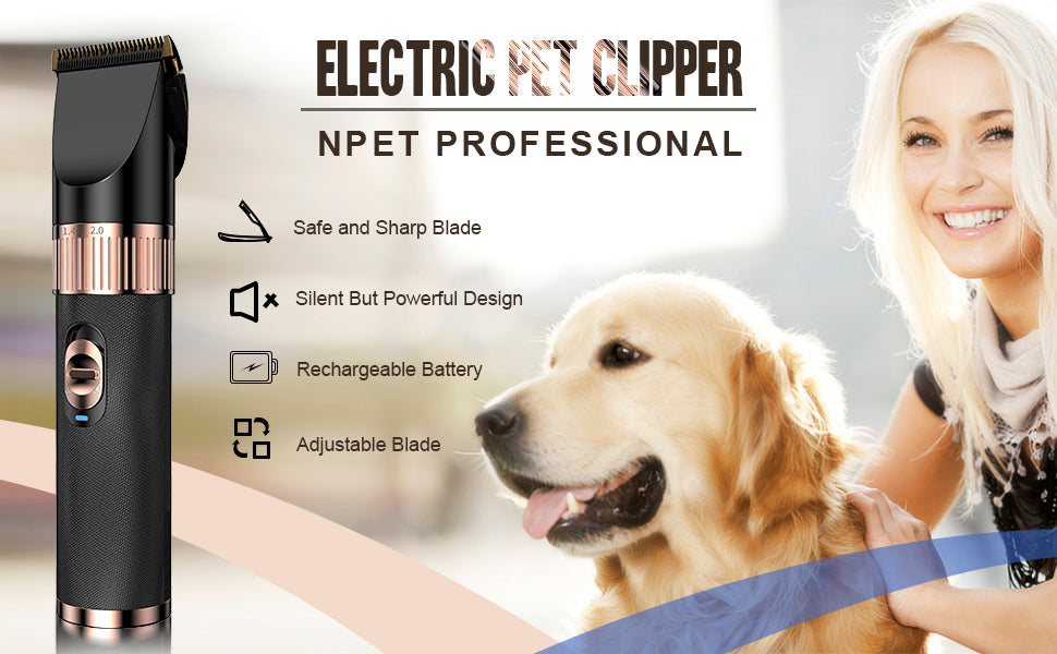 electric pet clippers
