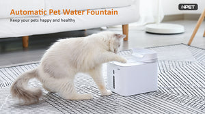 NPET Automatic Cat Water Fountain Dog Fountain