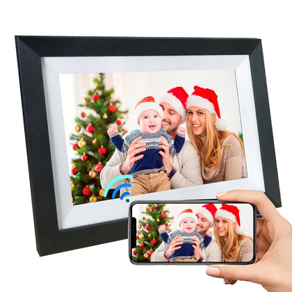 NPET Smart Digital Picture Frame 10.1 Inch, Share Photos Video via App