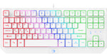 NPET G20 Compact Gaming Keyboard 87 Keys - White