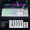 white keyboard k10