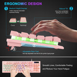 pink gaming keyboard