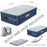 NPET AM10 Twin Air Mattress with Built-in Pump