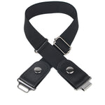 NPET Buckle Free Belt Stretch Belt For Women/Men