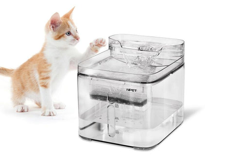 NPET Cat Fountain Dog Fountain Pet Water Fountain