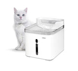 NPET Cat Water Fountain Dog Fountain White