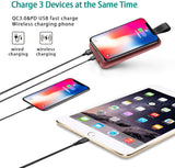 NPET Wireless Charger Type C Power Bank