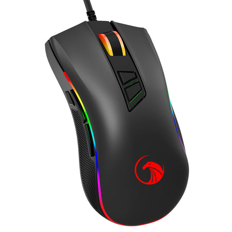 NPET M60 Wired Gaming Mouse 9 Programmable Buttons