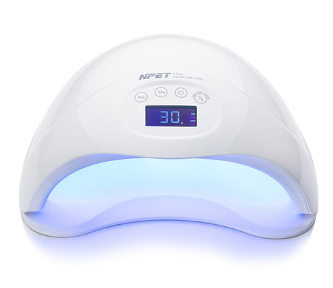 NPET Nail Dryer 48W UV LED Nail Lamp with 3 Timers