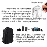 NPET P02 Camera Case Backpack Waterproof Shockproof