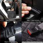 NPET Pet Car Seat Cover Protector with Side Flaps