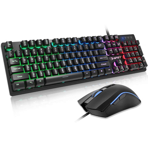NPET S20 Gaming Keyboard and Mouse Combo
