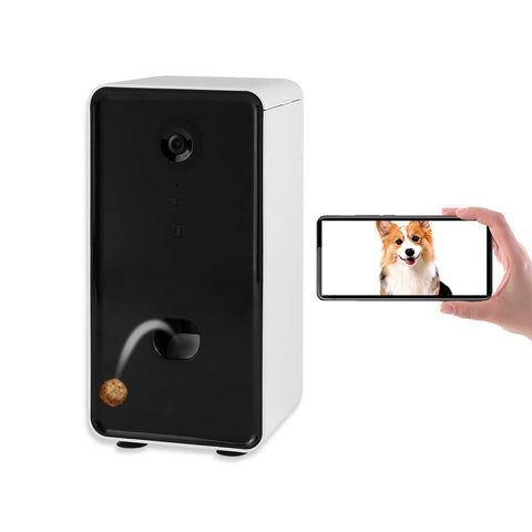 NPET Smart Pet Treat Dispenser Camera