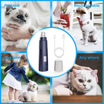 NPET Electric Dog Cat Nail Grinder with Guard